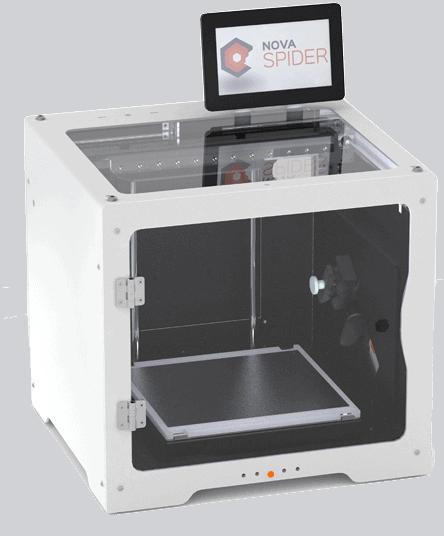 Impresora 3D nanofibras Novaspider