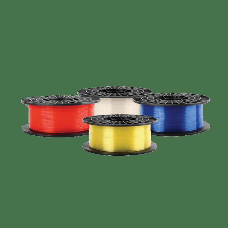 Filamentos PLA Translúcidos